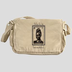 beautiful woman Messenger Bag