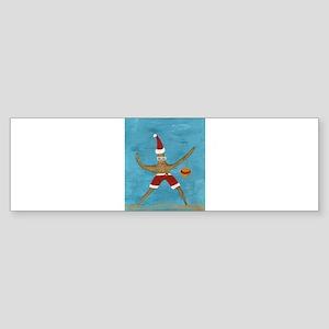 Christmas Starfish Bumper Sticker