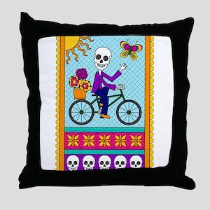 Best Seller Sugar Skull Throw Pillow