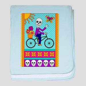 Best Seller Sugar Skull baby blanket