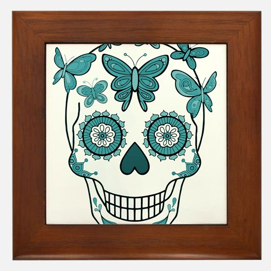 Cool All souls day Framed Tile