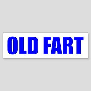Old Fart Bumper Sticker