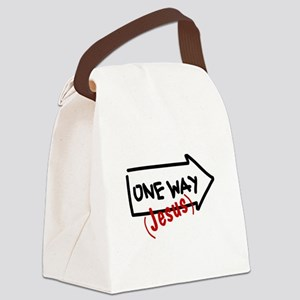 OneWay_4Light Canvas Lunch Bag
