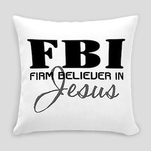 FBI_4Light Everyday Pillow