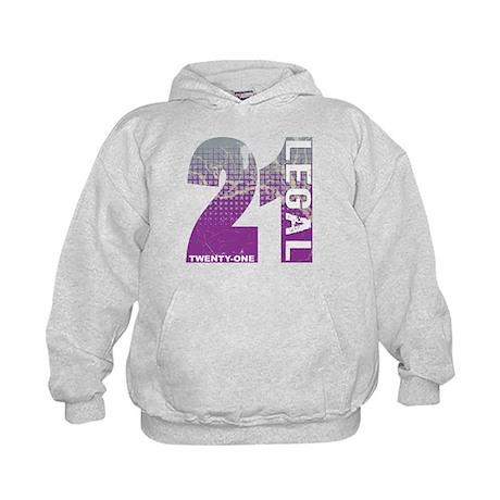 21 Legal Kids Hoodie
