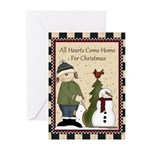 All Hearts Christmas (pk Of 20) Greeting Cards