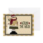 Across The Miles Christmas (pk Of Greeting Cards