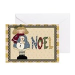 Noel Christmas (pk Of 10) Greeting Cards