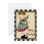 Happy Holiday (pk Of 10) Greeting Cards