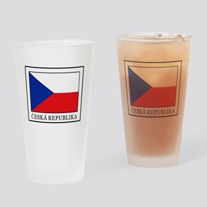 Ceska Republika Drinking Glass