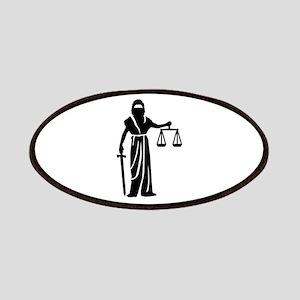 Justitia court Patch