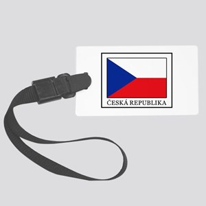Ceska Republika Large Luggage Tag