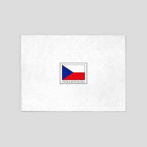 Ceska Republika 5'x7'Area Rug
