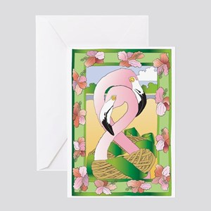 Flamingos Forever Greeting Cards