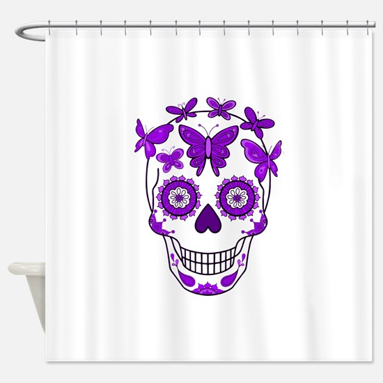 Unique All souls day Shower Curtain