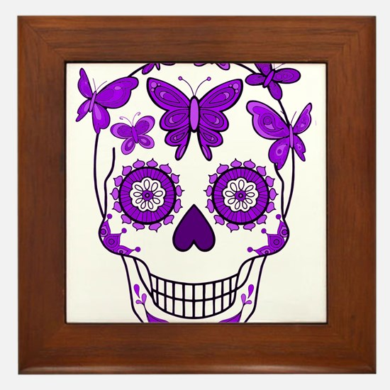 Funny All souls day Framed Tile