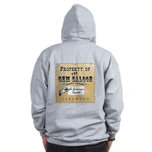 Gem Saloon Deadwood Zip Hoodie