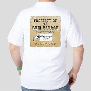 Gem Saloon Deadwood Golf Shirt