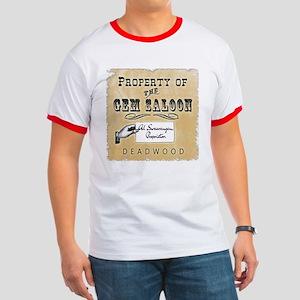Gem Saloon Deadwood Ringer T