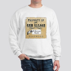 Gem Saloon Deadwood Sweatshirt