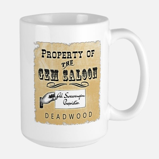 Gem Saloon Deadwood Large Mug