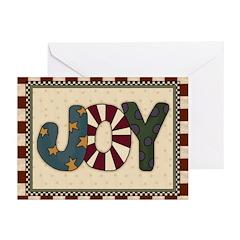 Joy Christmas (pk Of 20) Greeting Cards
