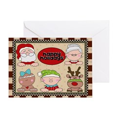 Happy Holidays Card Greeting Cards