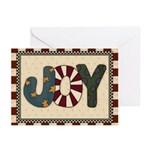 Joy Christmas (pk Of 10) Greeting Cards