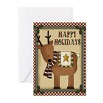 Reindeer Christmas (pk Of 10) Greeting Cards
