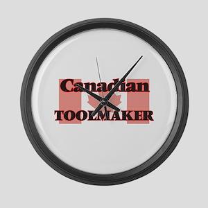Canadian Toolmaker Large Wall Clock