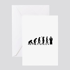 Evolution Judge Greeting Card