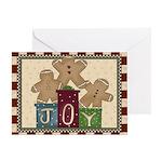 Joy Christmas Greeting Cards
