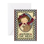 Miles Christmas (pk Of 10) Greeting Cards