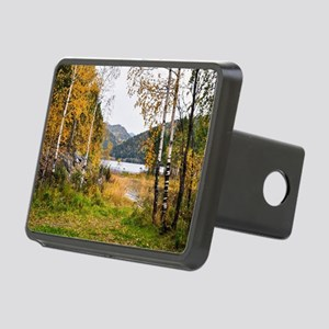 Autumn Lake View Rectangular Hitch Cover