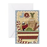 Joy Cookie (pk Of 20) Greeting Cards