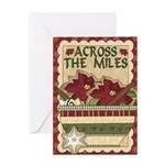 Across The Miles Baking Greeting Cards