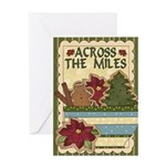 Across The Miles Cookie Card Greeting Cards