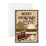 Merry Cookie (pk Of 10) Greeting Cards