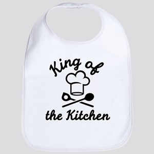 King of the kitchen Bib