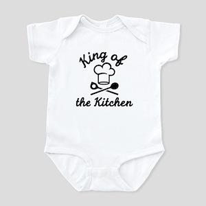 King of the kitchen Infant Bodysuit
