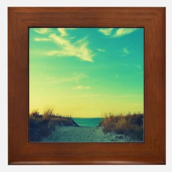 Walk With Love Framed Tile