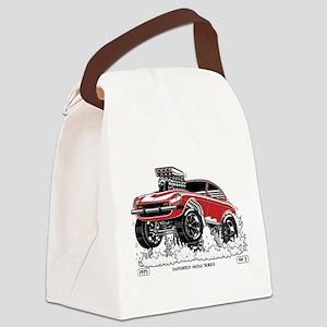 280Z Gasser Wheelie-3 Canvas Lunch Bag