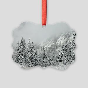Winter Wonderland Picture Ornament