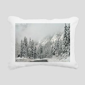 Winter Wonderland Rectangular Canvas Pillow