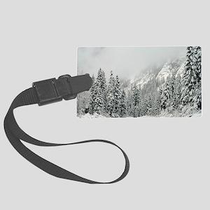 Winter Wonderland Large Luggage Tag