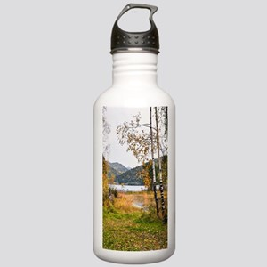 Autumn Lake View Stainless Water Bottle 1.0L