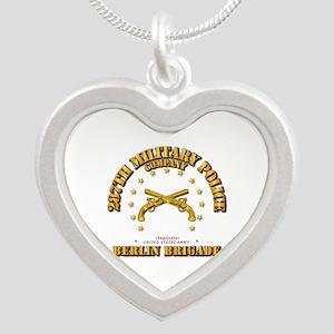 287th Mp Company - Berlin Br Silver Necklaces