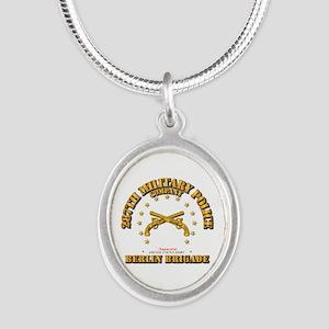 287th Mp Company - Berlin Bri Silver Necklaces