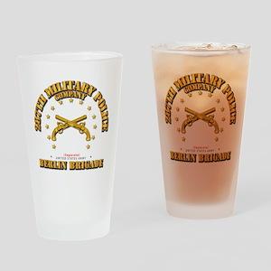 287th MP Company - Berlin Brigade Drinking Glass