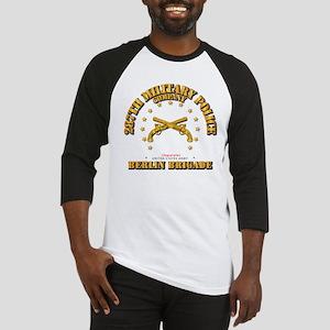 287th MP Company - Berlin Brigade Baseball Jersey